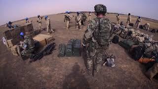 Med Hercules på FN-flyvning i Mali