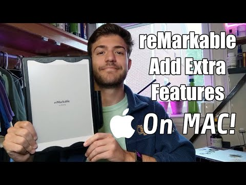 reMarkable Tablet Hack - Add Unofficial Features \u0026 Fixes | MAC OS