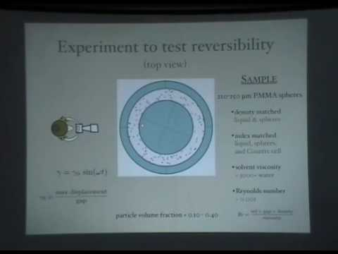 Colloidal self-assembly, Lecture II - David Pine