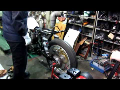 Rotax 650 Flat Track Motorcycles engine start
