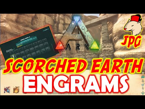 Ark scorched earth how to play engrams first gameplay youtube ark scorched earth how to play engrams first gameplay malvernweather Images