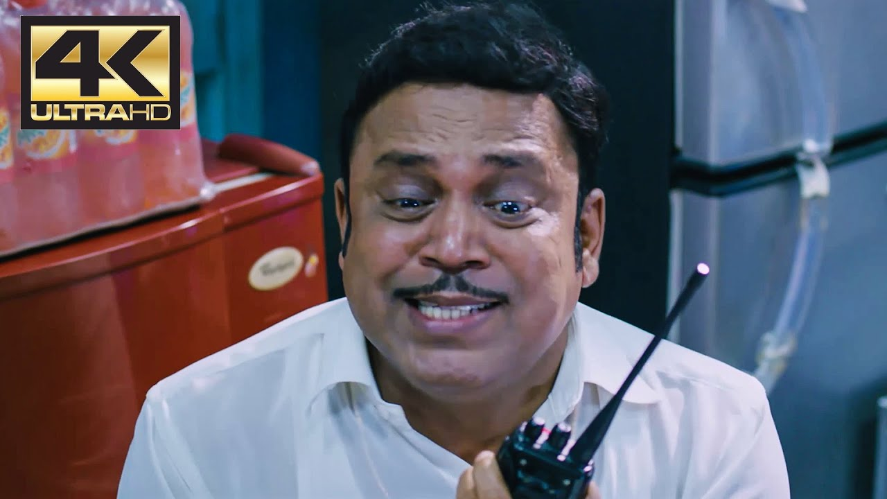 Download Thambi Ramaiah Comedy Scene | Thodari | 4K (English Subtitle)