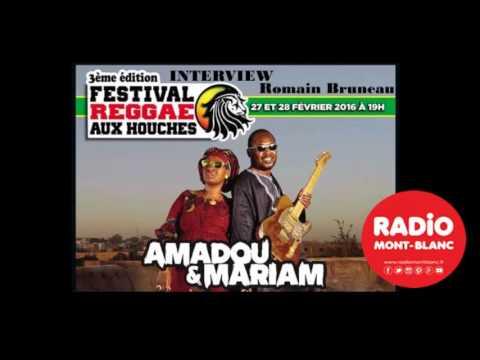 Amadou et Mariam interview - Radio Mont Blanc
