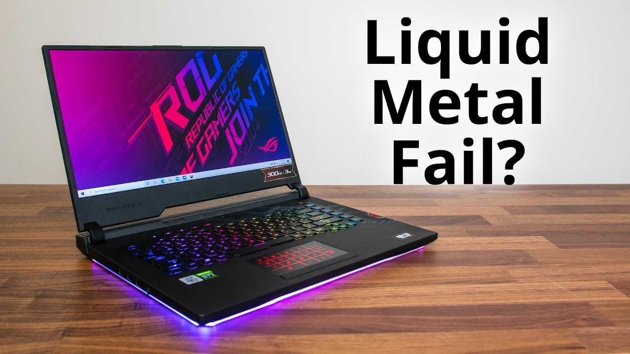 ASUS Scar 15 Review - Liquid Metal Can't Fix Everything