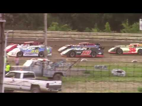 Hummingbird Speedway (6-8-19): Swanson Heavy Duty Truck Repair Semi-Late Model Heat Race #2