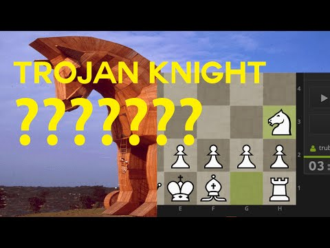 Surviving Atomic Chess – Trojan Knight Opening (1. Nh3)