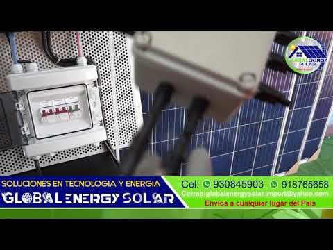 Panel Solar Global Energy Solar