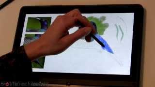 Lenovo ThinkPad Yoga Wacom Pen Demo and Review