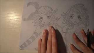 Download Vocaloid Luvoratorrrrry Gumi and Rin Speed Draw MP3 song and Music Video