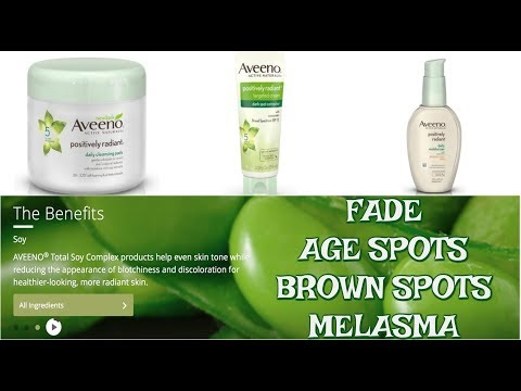 SOY ANTI-AGING PRODUCTS | OVER 40 SKINCARE | SOY ON AGE SPOTS