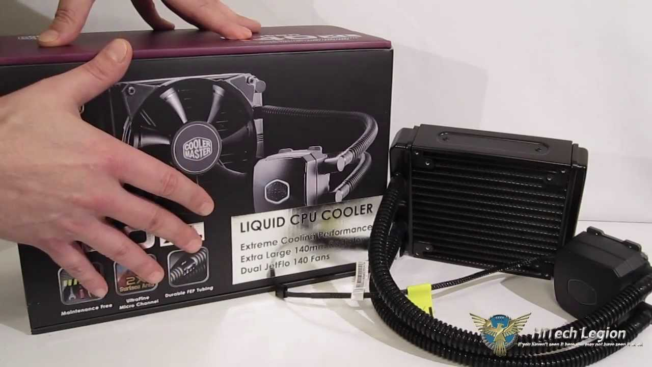 Cooler Master Nepton 140xl Aio Liquid Cpu Cooler Overview