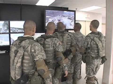 Military FPS Video Game Simulations: Team War Practice by V*I*C*E