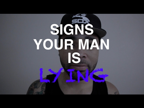 How can you tell a man is lying