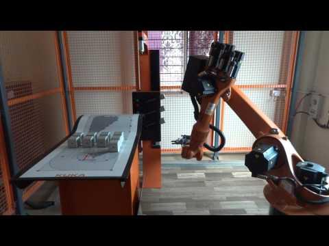 KUKA ROBOT Training Pune, IRTI