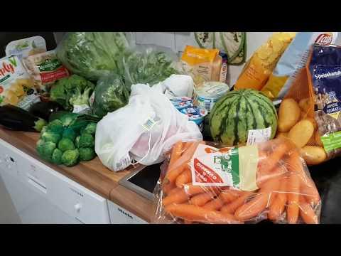 Закупка продуктов на неделю в Германии. Что мы покупаем?