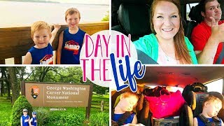 Day In The Life Vlog of a Stay at Home Mom | George Washington Carver