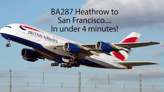 LHR to SFO in 4 mins thumbnail
