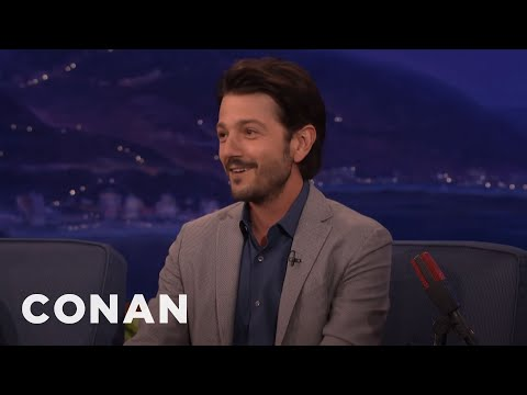 Diego Luna's 8YearOld Son Broke His Confidentiality Agreement   CONAN on TBS
