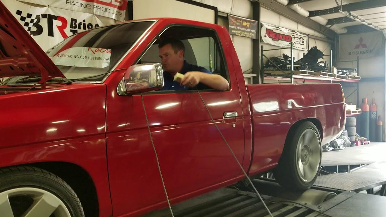 Turbo Nissan Hardbody on the Dyno!