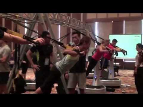 Power Plate | 60 second sizzle reel from a Shunde, China Integrated Fitness workshop