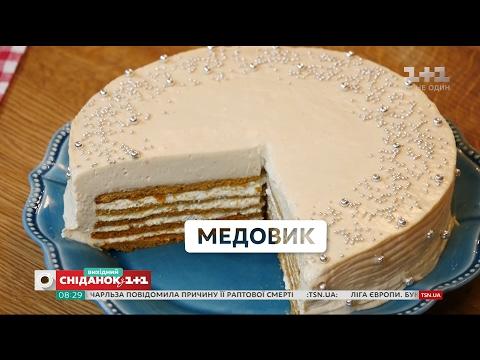 Торт медовый в домашних