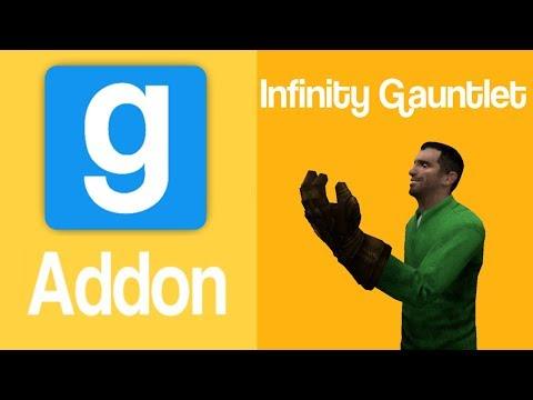 Garry's Mod Addon: Infinity Gauntlet