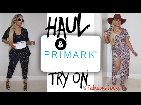 Summer Shopping Haul & Try On From Primark | 8 Stunning Looks | Something For Everyone 🖤