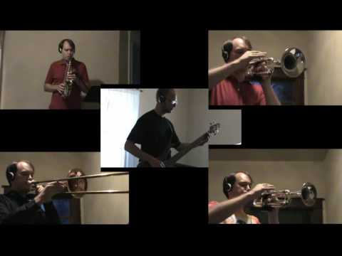 I Can't Move No Mountains, tough horn section parts transcribed and performed by Paul Morelli