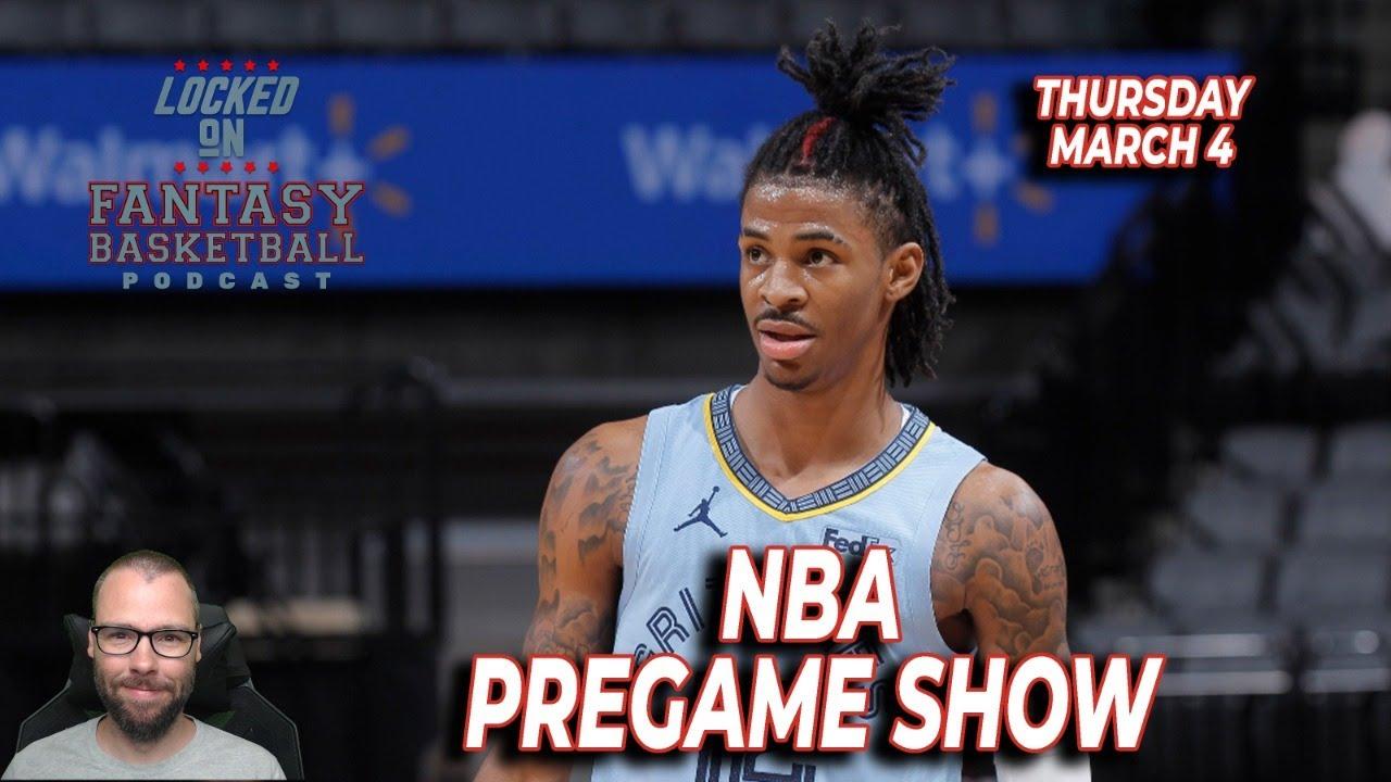 NBA Pregame Show | Fantasy Basketball/DFS | Thursday March 4
