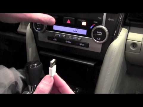 toyota camry usb ipod connection    toyota