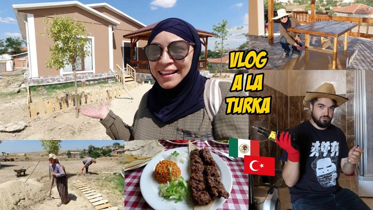 Qué Pasará Con La Casa Vieja? + Aquí Tendremos Nuestro Huerto + Pintando   Mexicana En Turquía