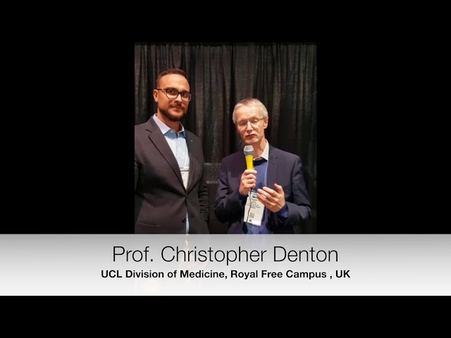 Prof. Christopher Denton interviewed at ACR2018 on Tocilizumab in SSc.