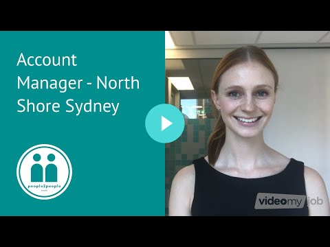 Account Manager - North Shore Sydney