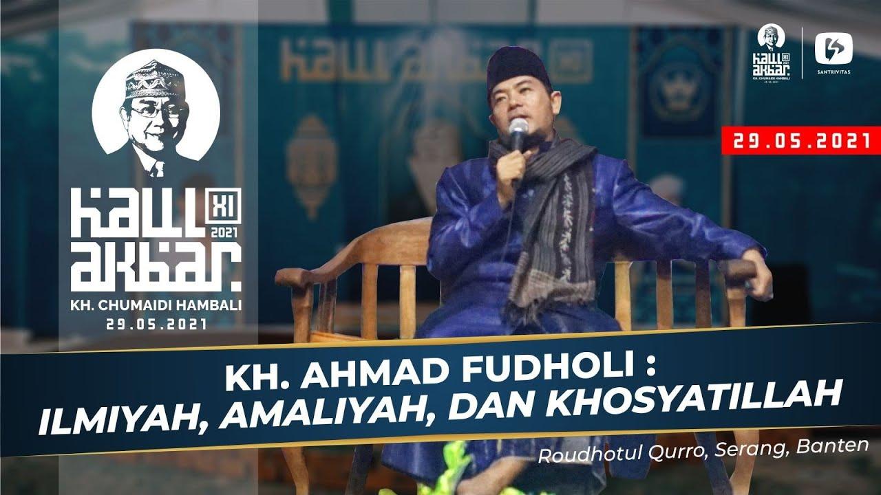 Download Ceramah KH Ahmad Fudholi Tangerang pada Peringatan Haul Akbar ke 11 Alm. KH. Chumaidi Hambali