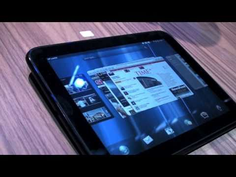 HP TouchPad Hands-On - Pairing with the HP Pre3