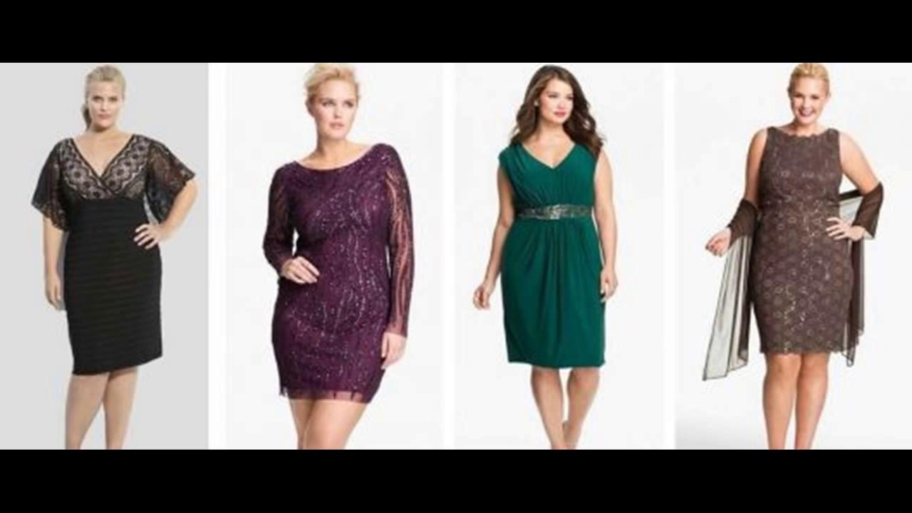 1de1fcf45 Modelos de Vestidos Para Gordinhas Baixinhas Usar - YouTube