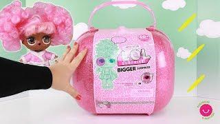 ⭐Nueva L.O.L. BIGGER SURPRISE con más de 60 juguetes sorpresa y pelucas ⭐