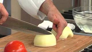 Dicing an Onion by Chef Jean Pierre