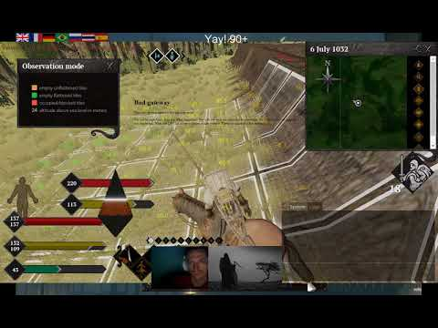 Life is Feudal 2018 04 29 TFA main force bases walls terraforming