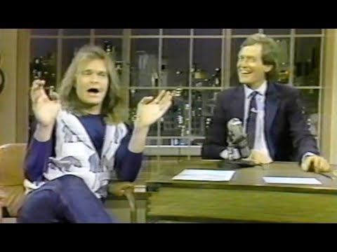 David Lee Roth - David Letterman 1985