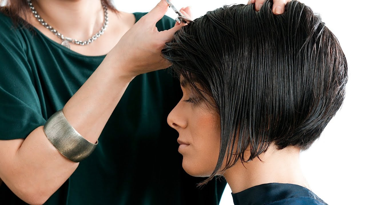 2 tips for styling your a-line bob | short hairstyles