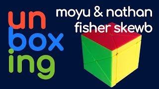 Unboxing Fisher Skewb de Moyu & Nathan | Cubo de Rubik