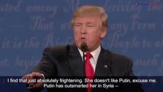 The Third and Final Presidential Debate 2016: Clinton vs. Trump