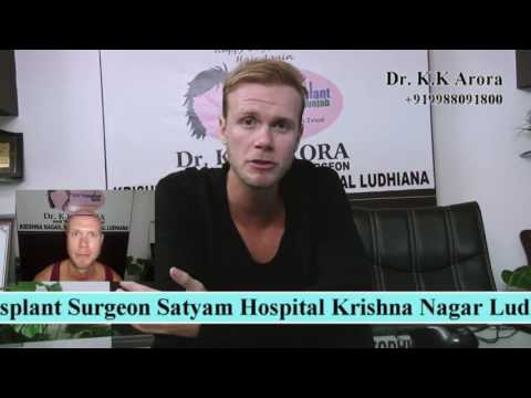 Our Patient from Holland Travels to India at Our Centre to Get Hair Transplant Surgery