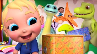Pop Goes The Dinosaur! | Baby Joy Joy on Clap Clap Baby