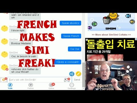 Simsimi The Creepy Funny Chatbot   Speaking French Makes Him Psycho!