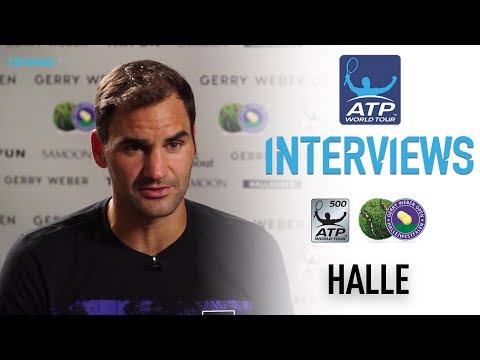 Federer Feeling Confident In Halle 2017