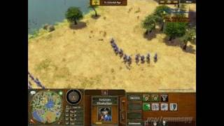 Age of Empires III PC Games Gameplay - Direct-Feed (E3 2005)