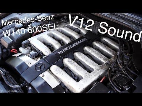 YALIN Mercedes-Benz V12 W140 Motor Sesi 600SEL S600