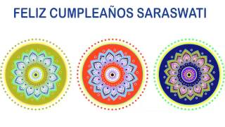 Saraswati   Indian Designs - Happy Birthday